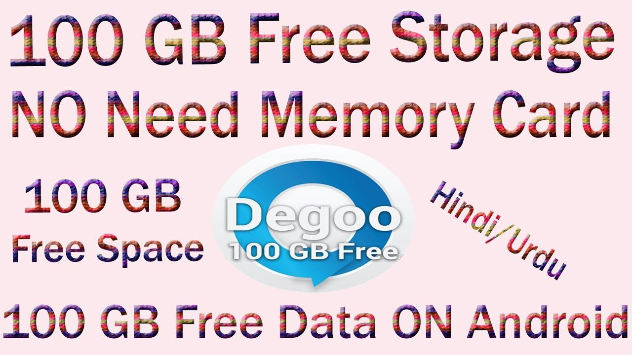How To Get 100 Gb Free Cloud Storage On Your Android Mobile 100 Gb Free Cloud Storage Cloud Storage Memory Cards