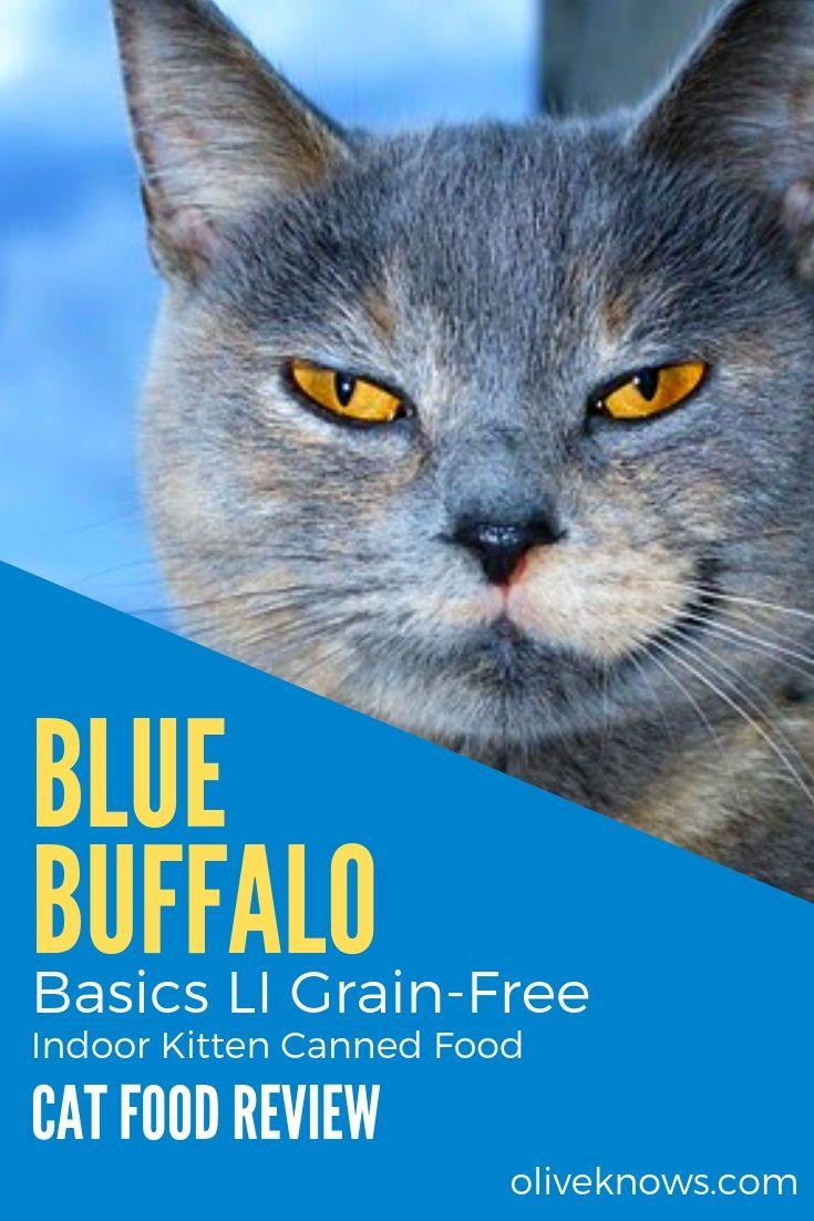 Blue buffalo basics li grainfree indoor kitten canned