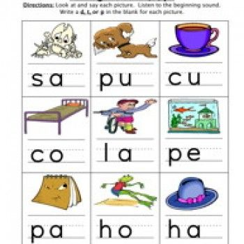 Ending Sound D T P Worksheet Have Fun Teaching Kindergarden Activities Phonics Worksheets Free ending sounds worksheets