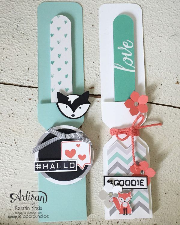 Stampin Up Inspiration & Art Products Foxy packaging nail file ...