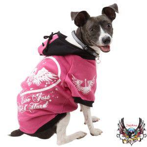 Bret Michaels Pets Rock Pink Hoodie Dog Sale Petsmart Too