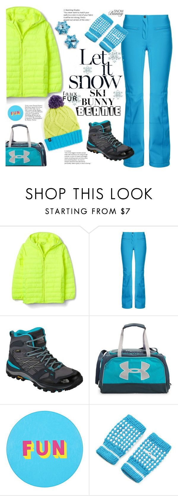 """""""Pompom Beanie"""" by tjclay3 ❤ liked on Polyvore featuring Fendi, The North Face, Under Armour, Lisa Perry, Chaos, polyvoreeditorial and pompombeanies"""