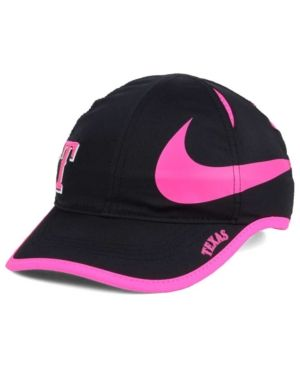 innovative design 86296 ac496 Nike Women s Texas Rangers Featherlight Adjustable Cap - Black Pink  Adjustable
