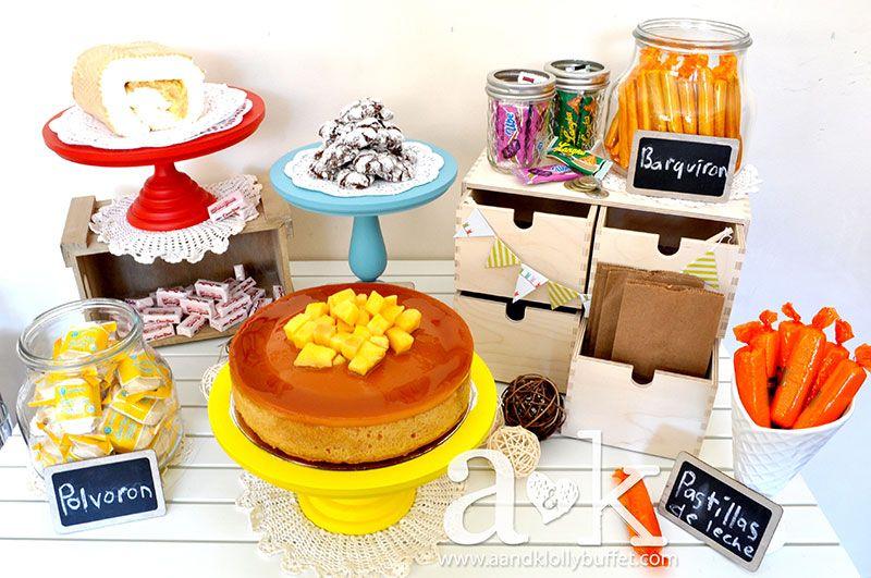 We Heart Parties Filipino Fiesta Dessert buffet, Kids