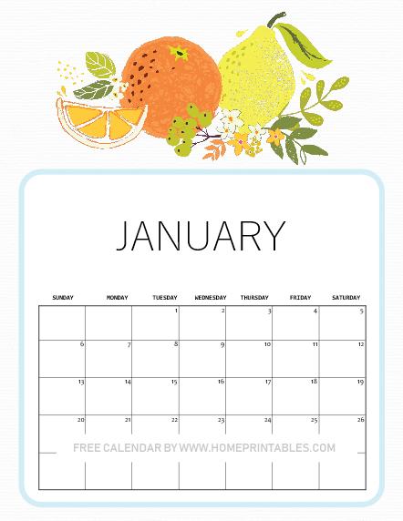12 January 2019 Printable Calendar Planners Super Fun Designs
