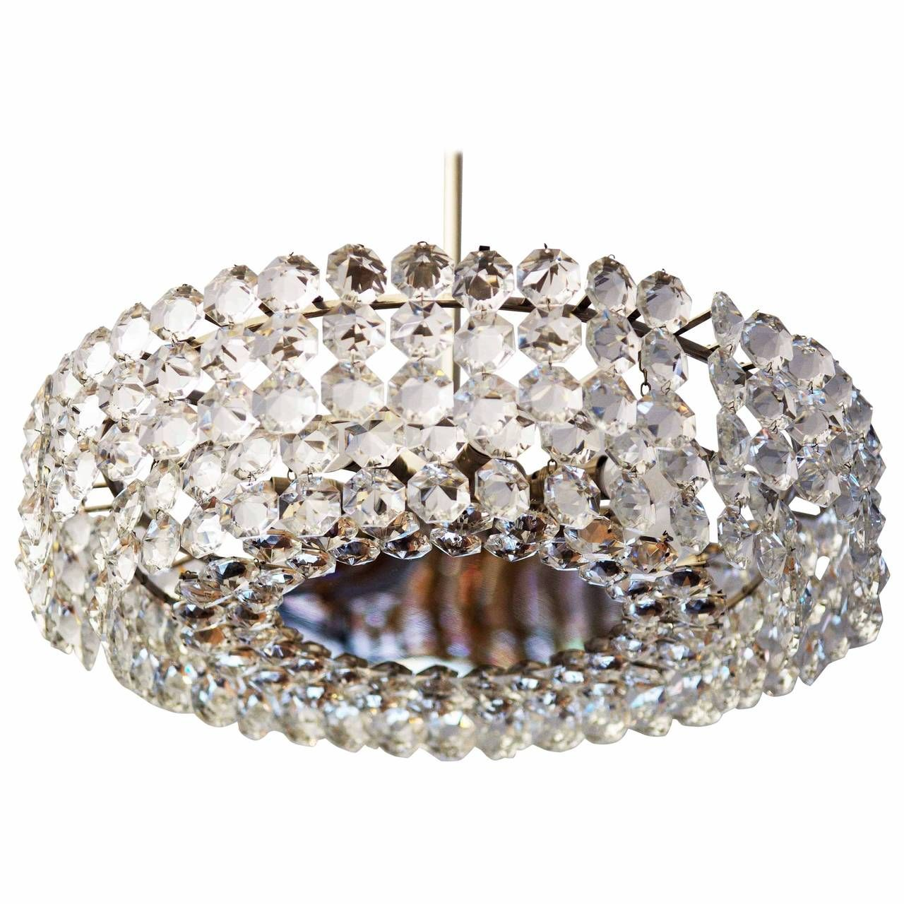Midcentury austrian crystal chandelier by bakalowits and sohne midcentury austrian crystal chandelier by bakalowits and sohne aloadofball Image collections