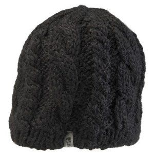 29b6bbb25bc Amazon.com  The North Face Cable Fish Black Knitted Fleece Beanie Winter  Snow Hat Men Women  Sports   Outdoors