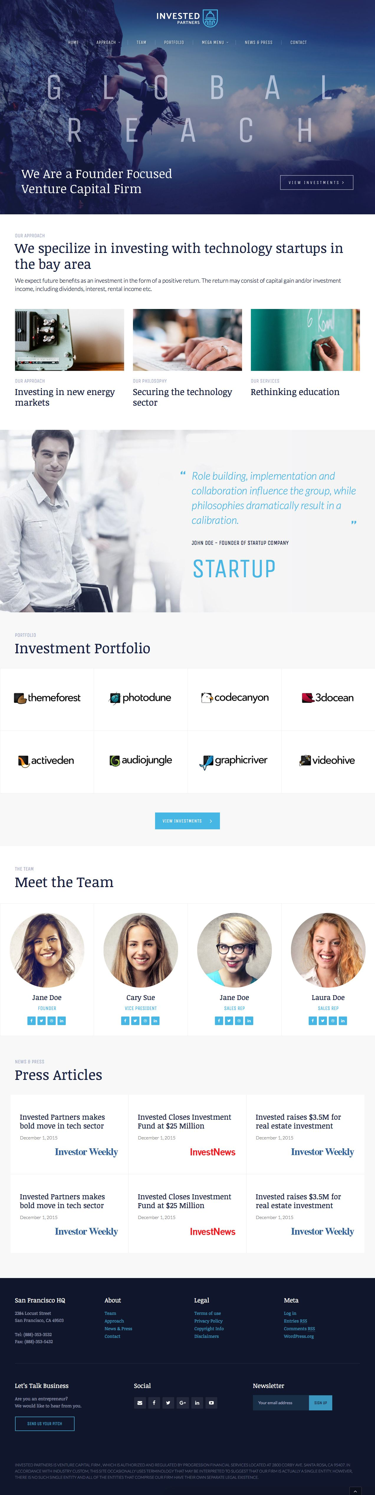 Invested Venture Capital Investment Theme Venture Capital Capital Investment Investing