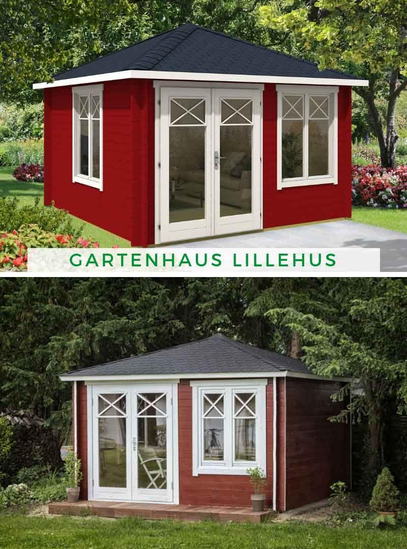 Gartenhaus Lillehus40 ISO Gartenhaus, Gartenhaus modern