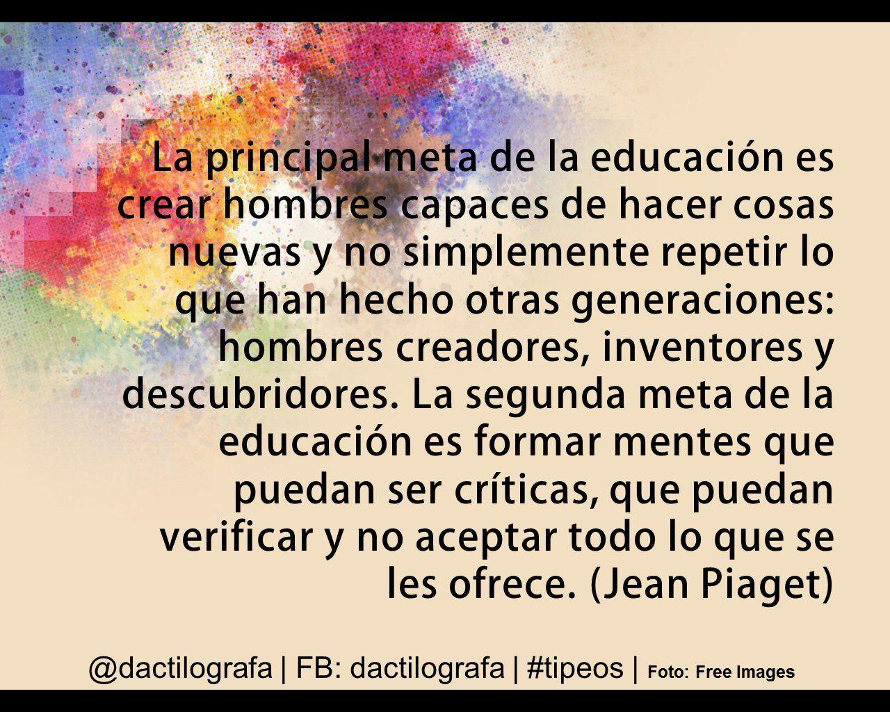 Frases Educación Frases De Educacion Frases Educacion