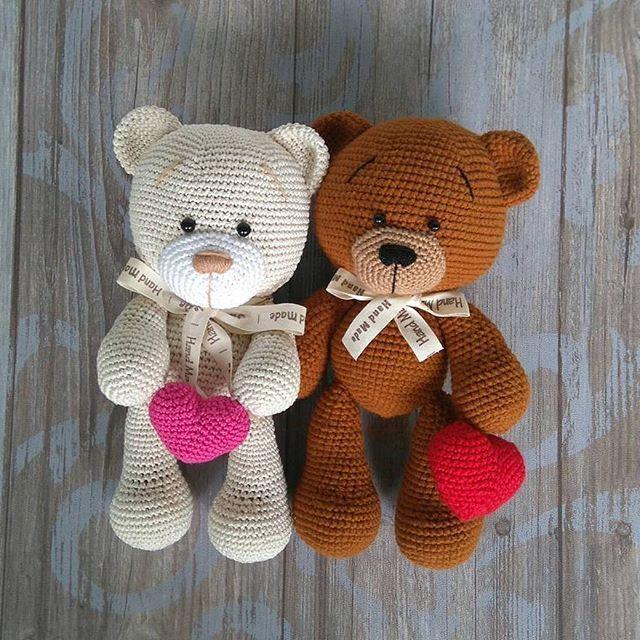 classic teddy bear | joni | Pinterest | Patrones amigurumi, Osos y ...