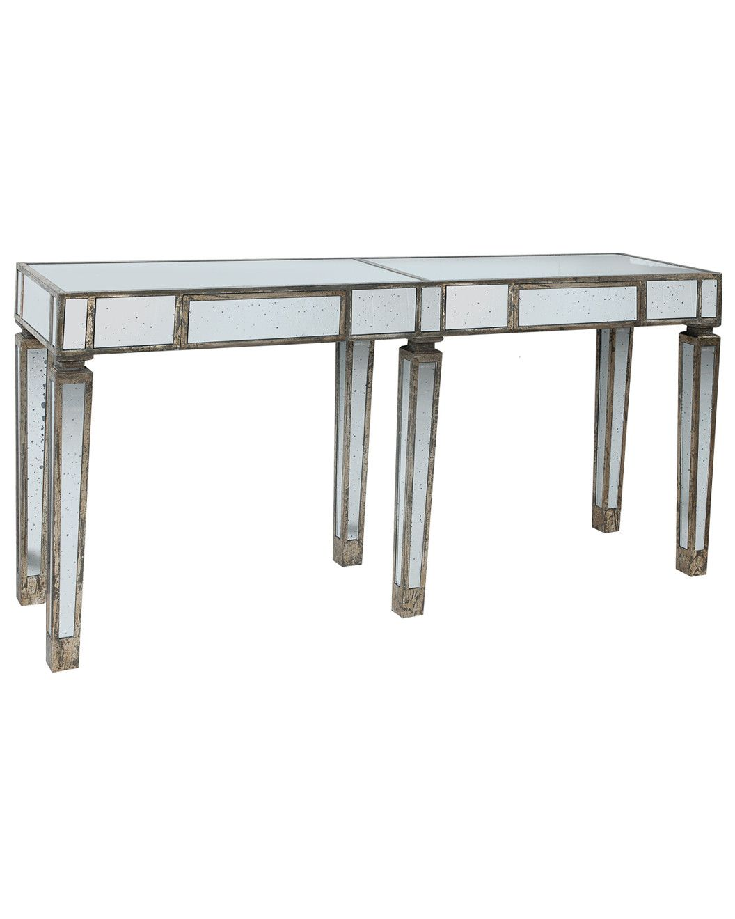 Glass console table with mirror spotted this console table on rue la la shop quickly  for the