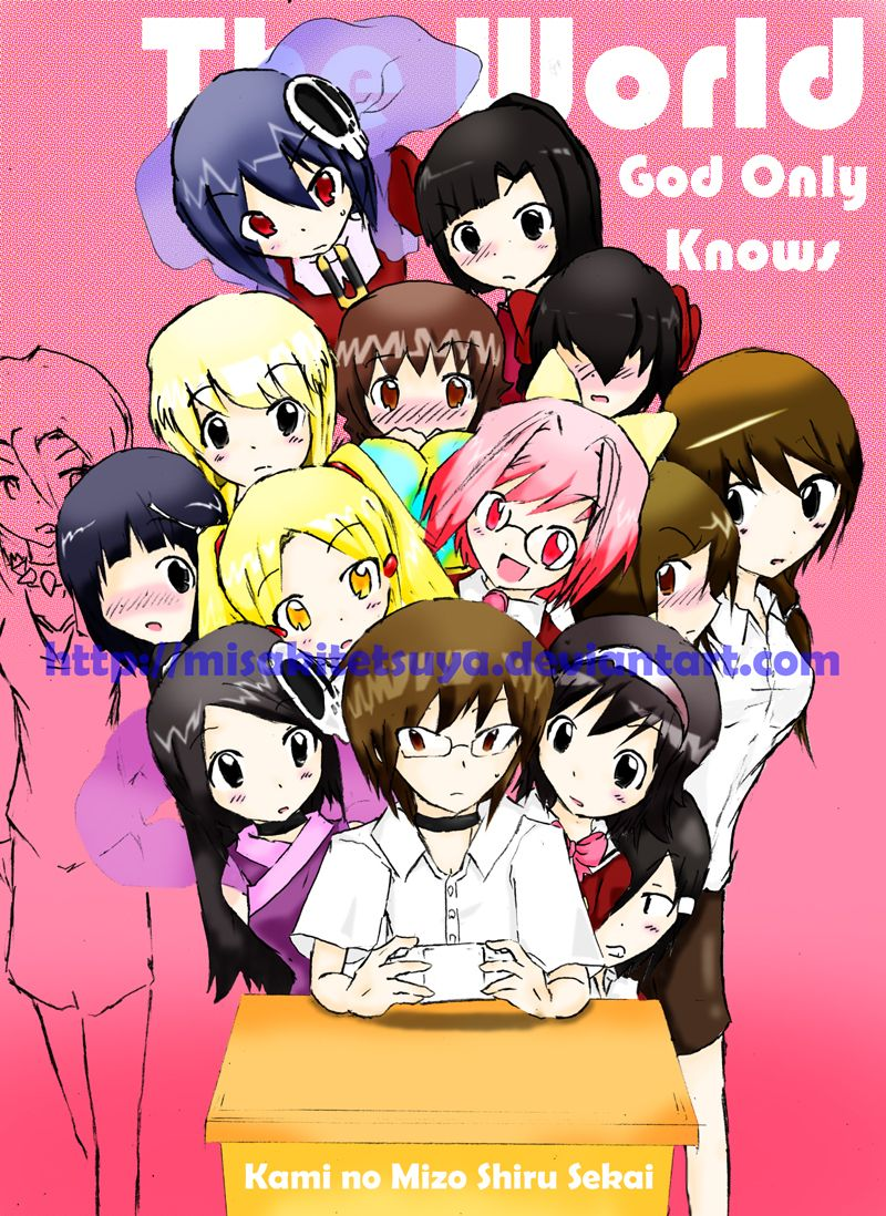 The World God Only Knows Anime, Manga