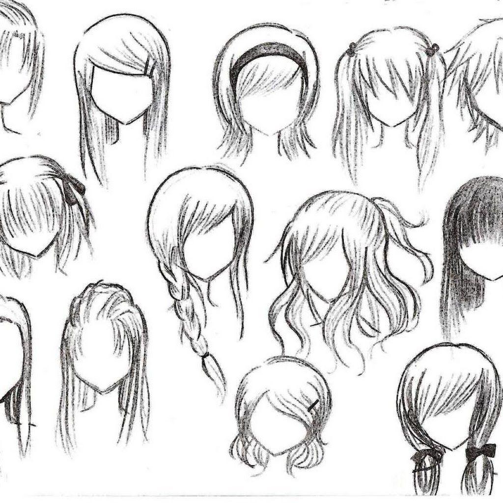 Hair drawing at getdrawings com free