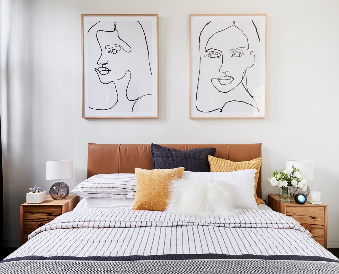 the block 2018  second guest bedroom reveals