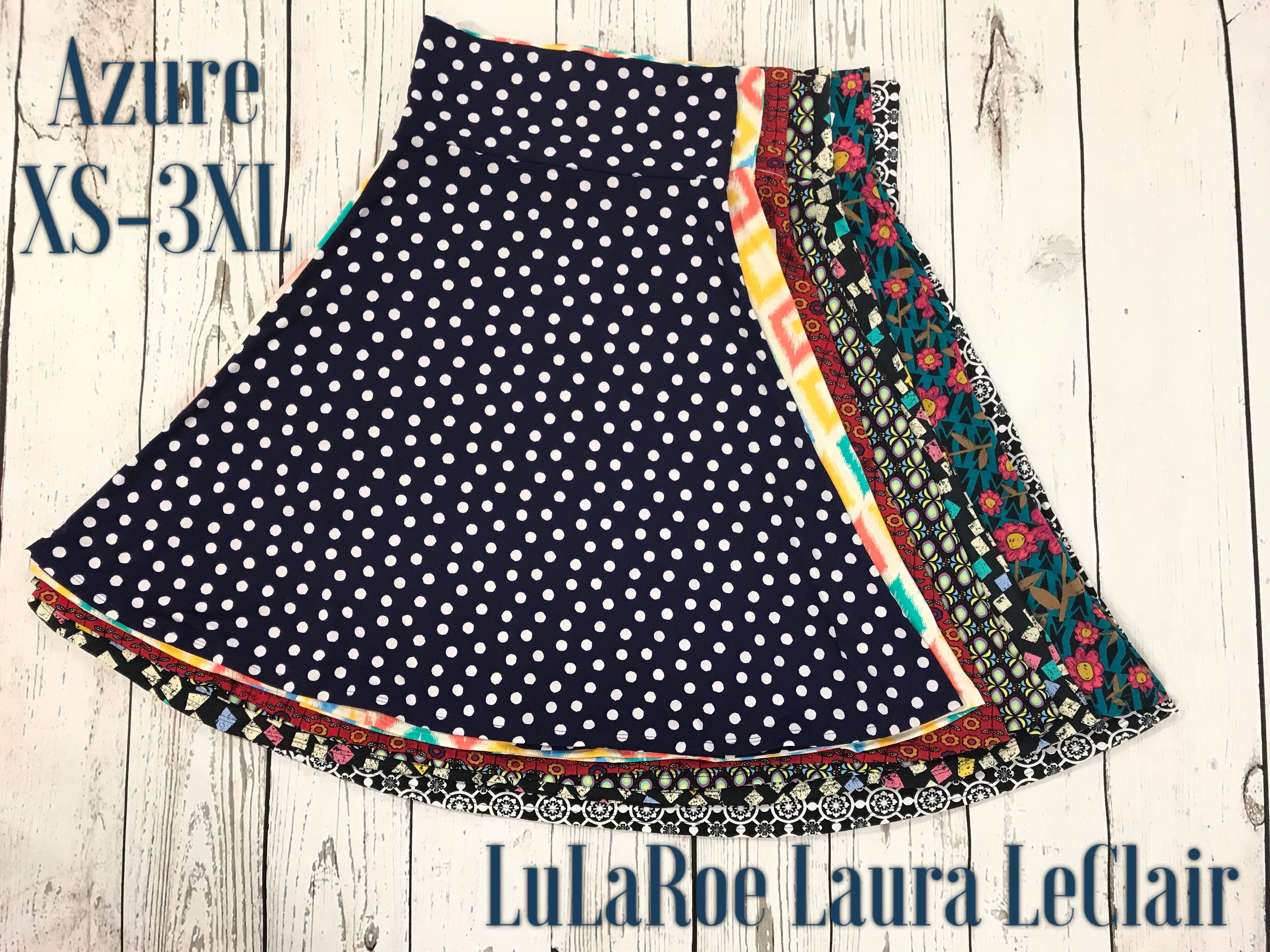 Clothing, Shoes & Accessories Skirts Lularoe Azure Sz Large Solid Gray A Line Stretch Swing Skirt