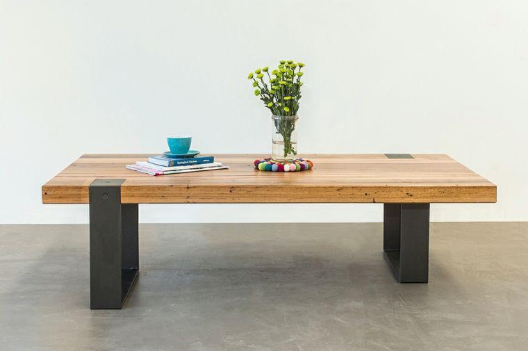 Mesas de comedor modernas de madera maciza - más de 50 ideas ...