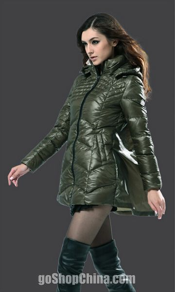 Best Down Winter Coats For Women Navy Army green sale cheap   My ...