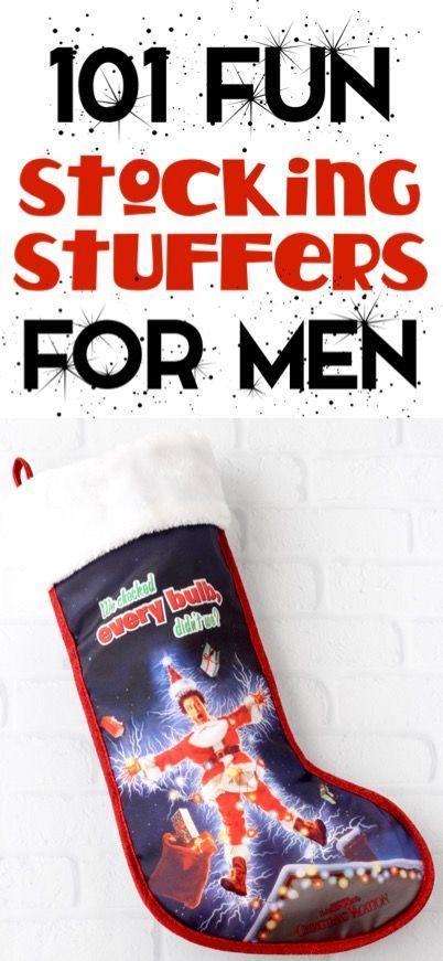 101 Fun Stocking Stuffers for Men! {What He Really Wants} - The Frugal Girls