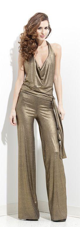 gold sequin jumpsuit jumpsuit kleider 70er jahre kleider und 70er jahre mode. Black Bedroom Furniture Sets. Home Design Ideas
