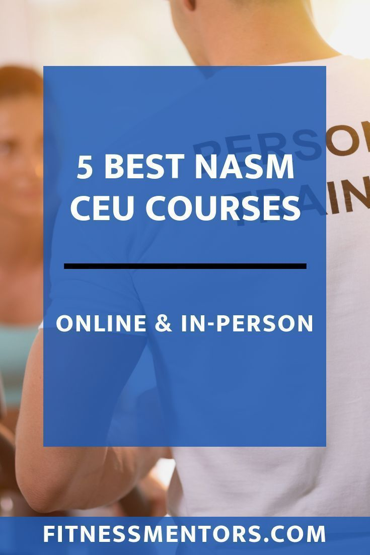 While inperson and online ceus each have their pros and