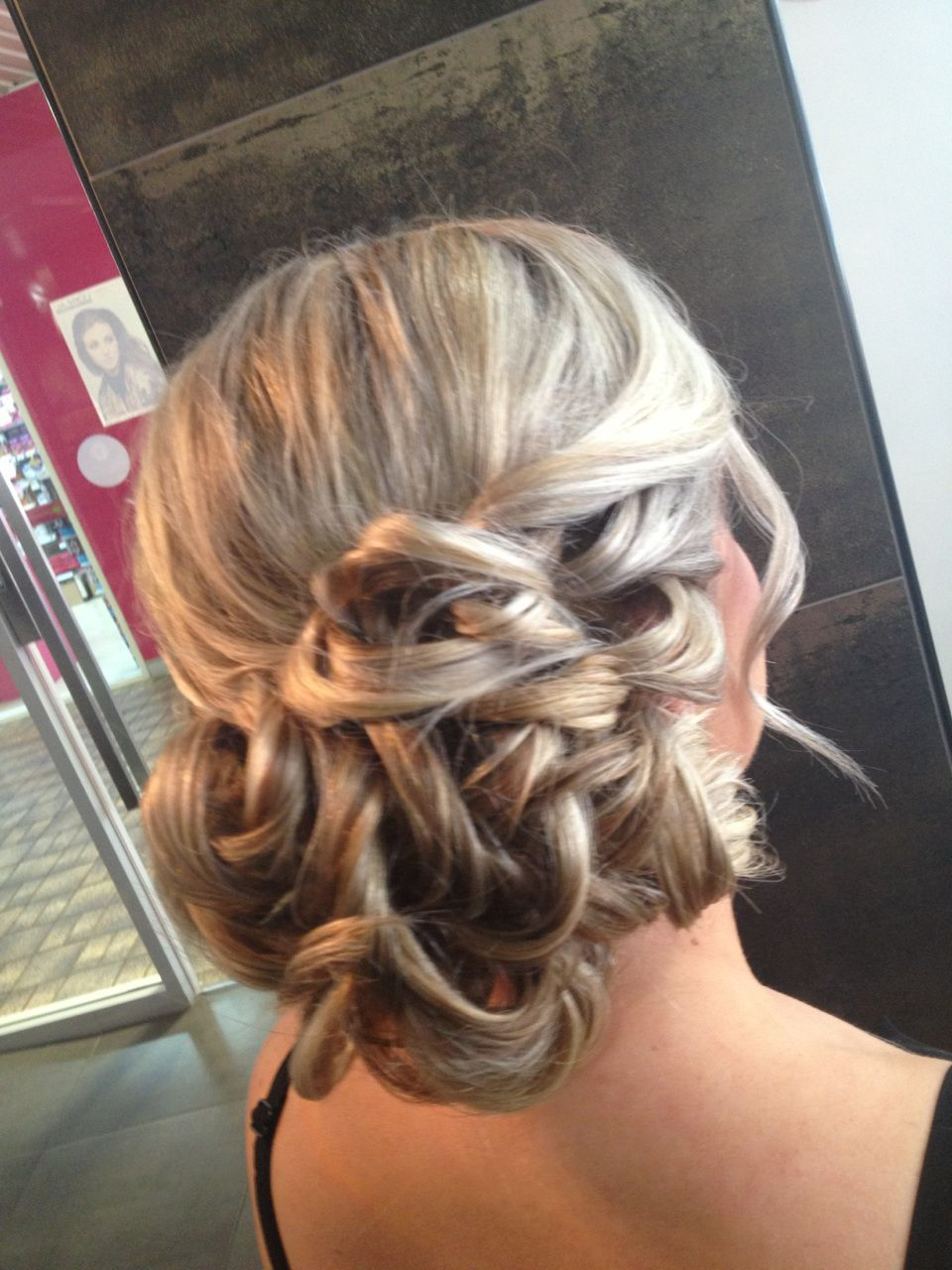 Formal hair upstyle by the esteem team penrith hair ups