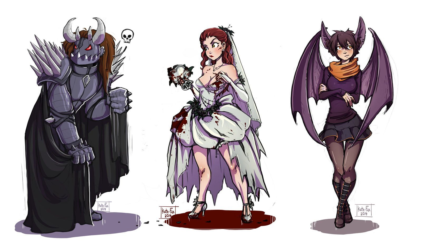Character References | Doodle Sketch Com by Kate-FoX | Drawing ...