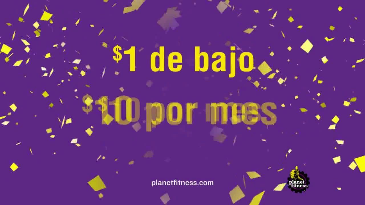 Planet Fitness 1 De Bajo 10 Por Mes Ad Commercial On Tv 2019 Planet Fitness Workout Tv Commercials Planets