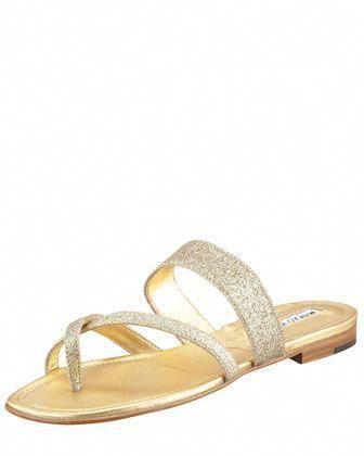 ce3f074c7fcb Susa Flat Glitter Sandal