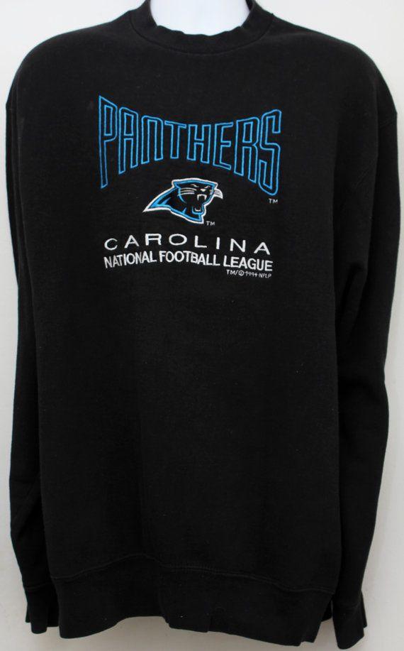 1994 Vintage CAROLINA PANTHERS Sweatshirt by StandoutVintageStore ... c628507da