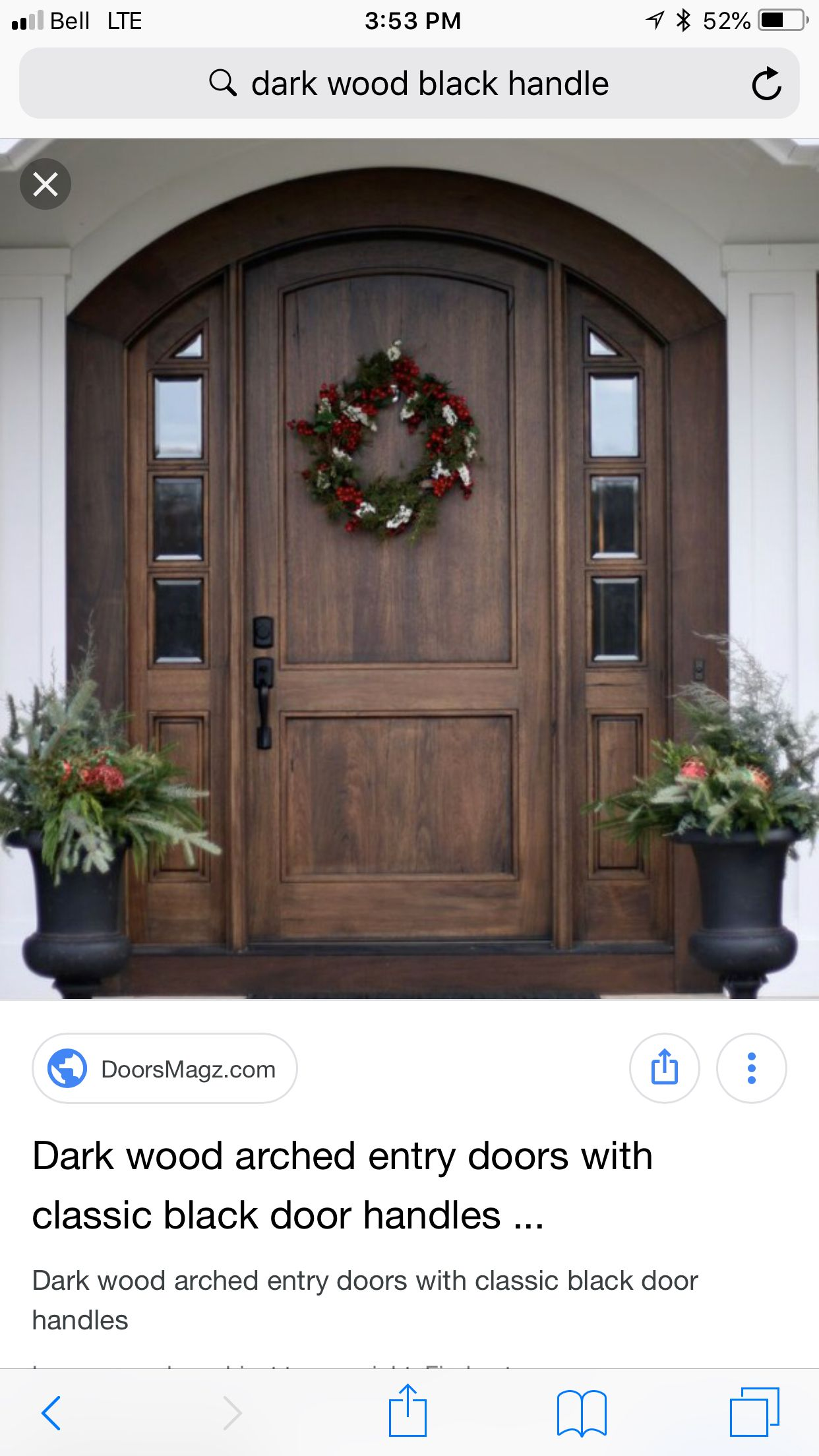 Pin by Kristy Hill on Feelin' Crafty... in 2019   Wood front doors Basic Wood Exterior Door on