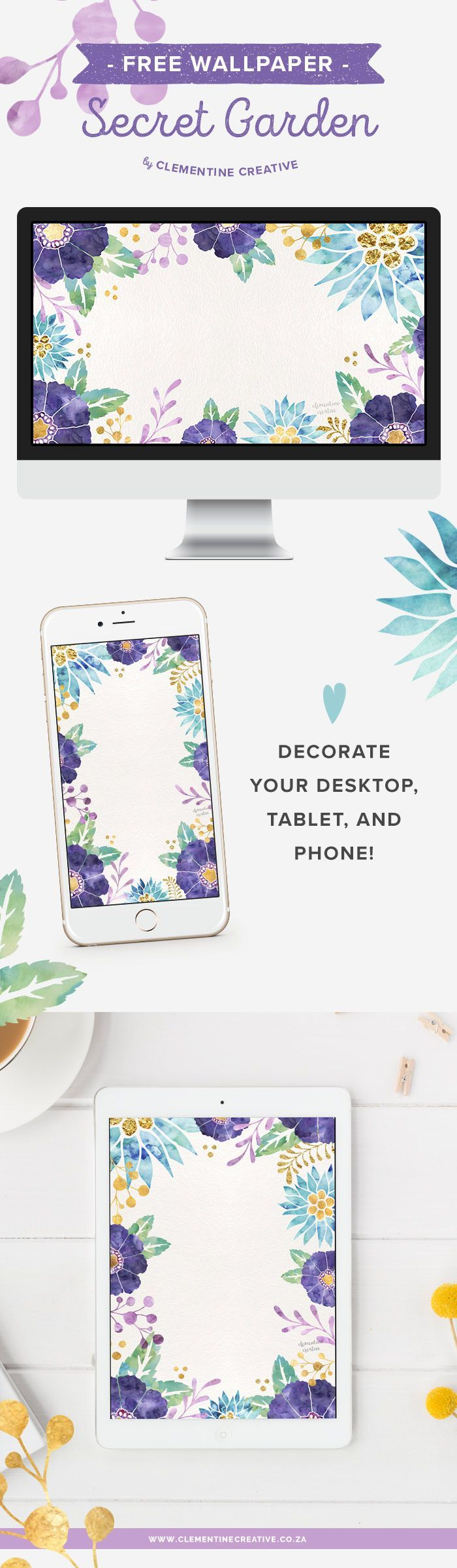 Add Beautiful Flowers To Your Desktop Computer Phone Or Tablet With