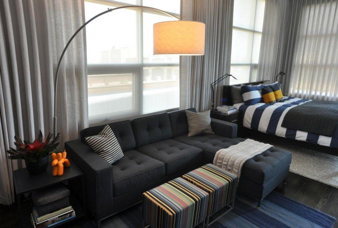 Best Fabulous Small Studio Apartment Design Masculine Living 400 x 300