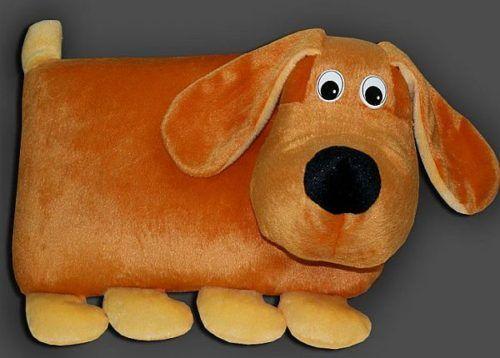 Собака подушка с выкройкой