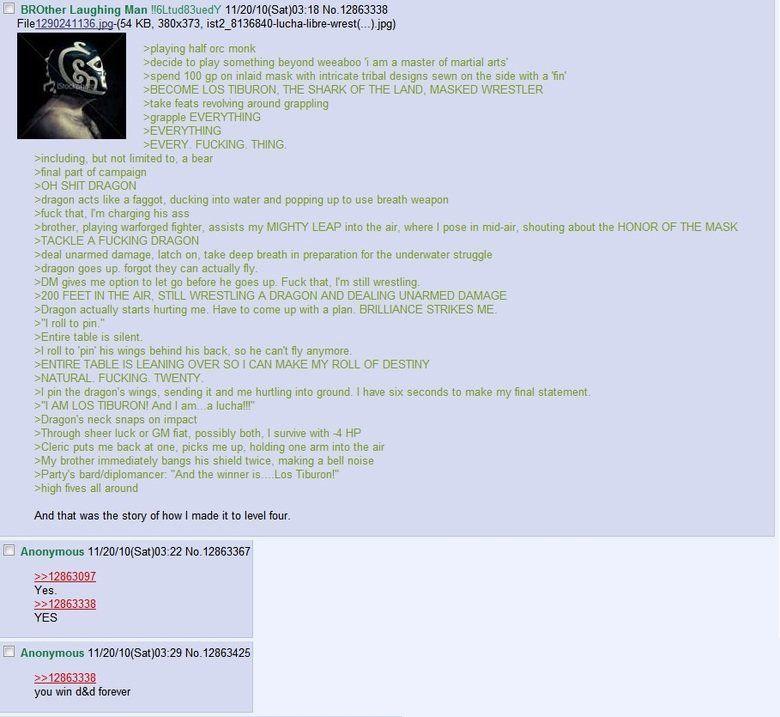DnD Greentext Compilation 1