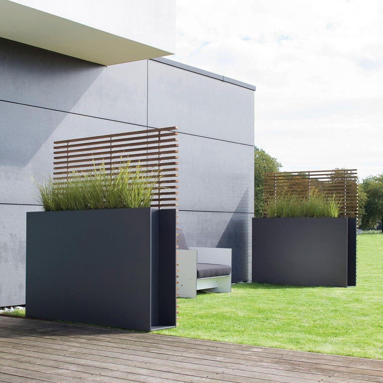 Sotomon Pflanzgefass Sichtschutz Garten Sichtschutz Terrasse Und