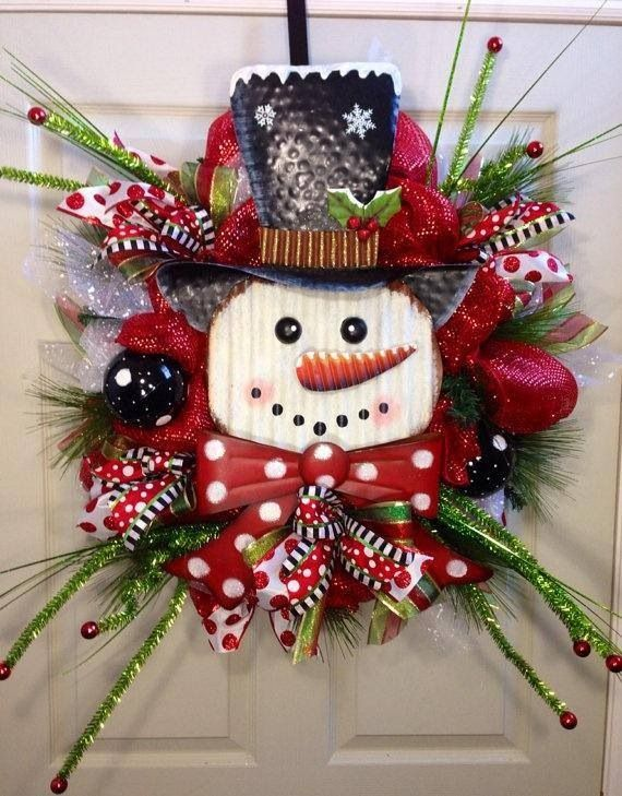 Pin By Dee S On Wreaths Christmas Wreaths Burlap Christmas Wreath Holiday Wreaths