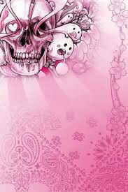 Girly skull wallpaper skulls wallpaper pinterest skull girly skull wallpaper voltagebd