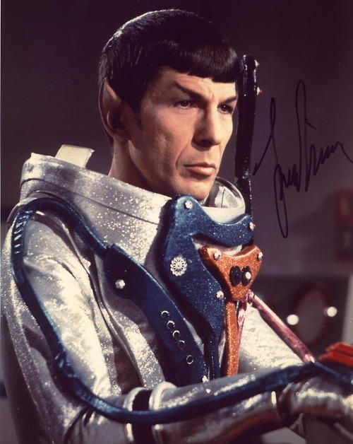 Mister Spock, in space suit ~ The Tholian Web