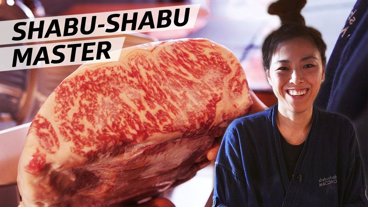 Shabushabu Macoron Chef Mako Okano Serves The World S Only Shabu Shabu Omakase Eater Shabu Shabu Sushi Chef Omakase