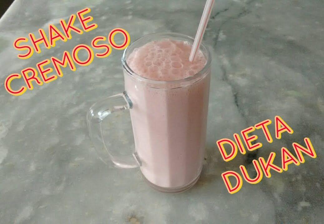 shake cremoso DUKAN