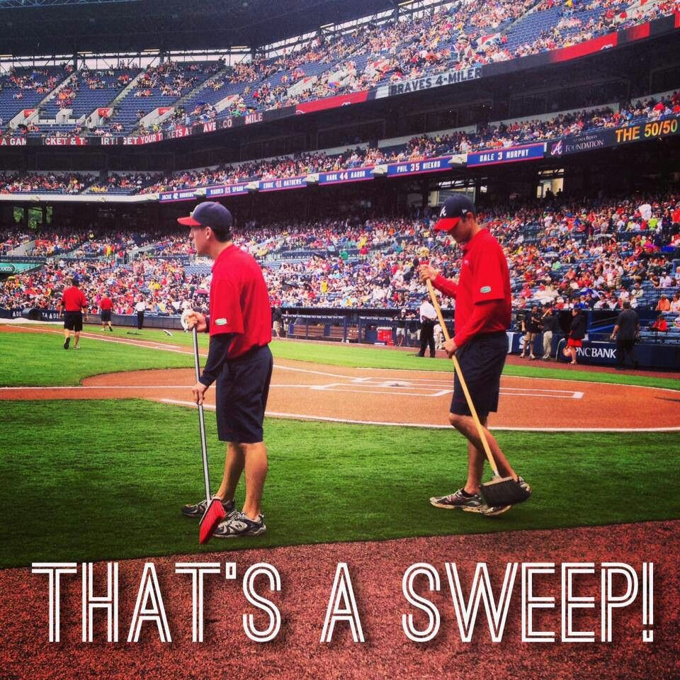 Braves Sweep Atlanta Braves Baseball Atlanta Braves Braves