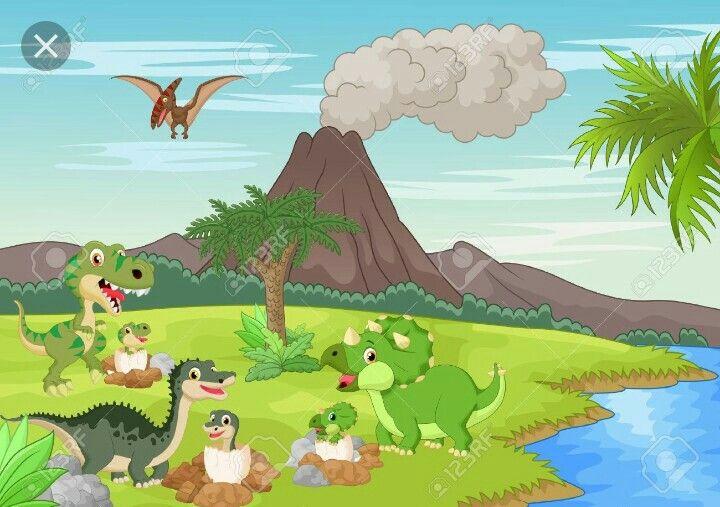Fondo dinosaurios