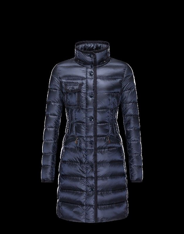 Moncler damen jacke blau