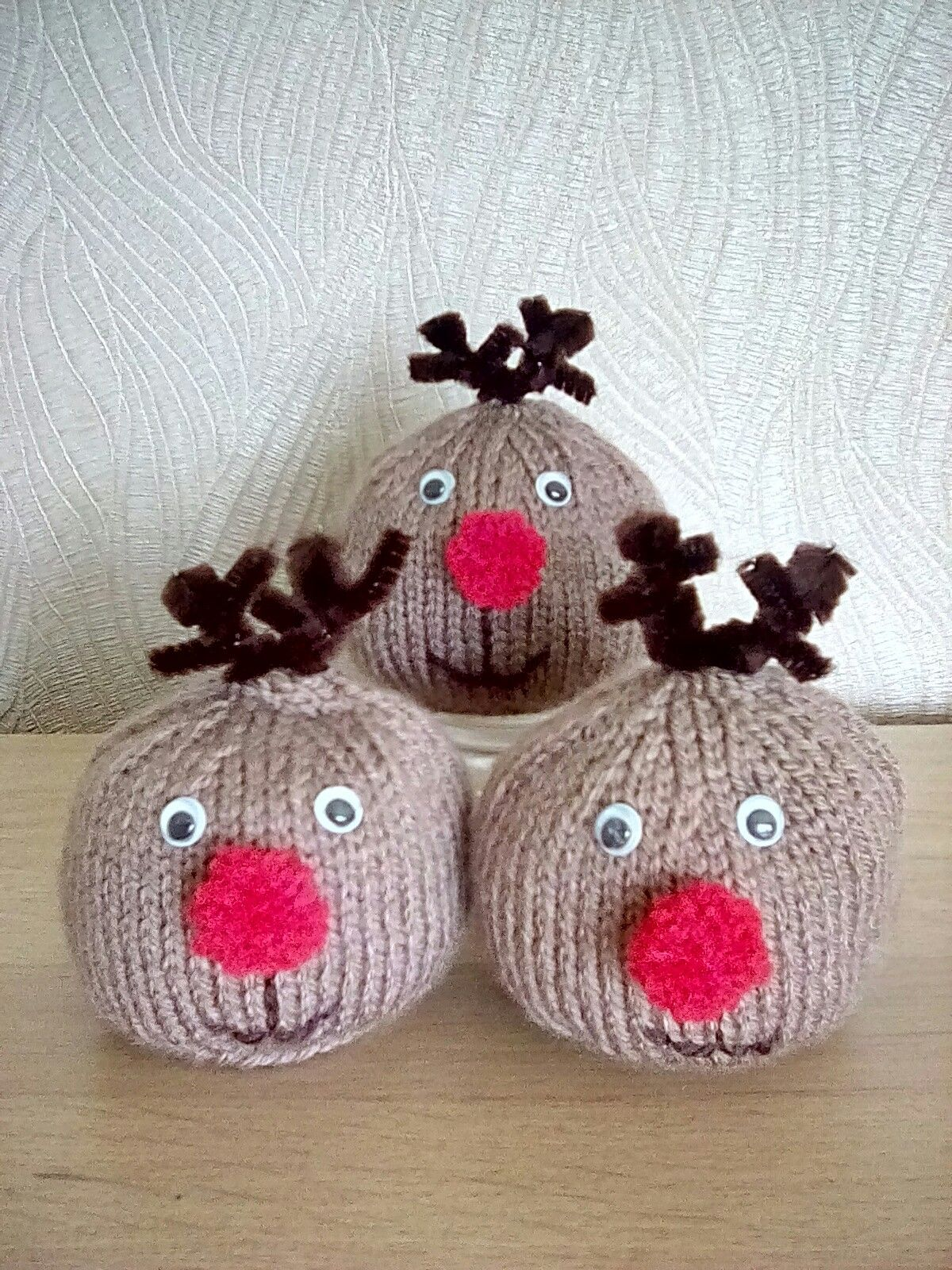 Chocolate Orange Covers Rudolph Knitted Christmas Decorations Christmas Knitting Patterns Christmas Crafts