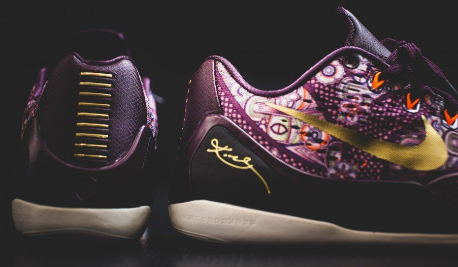 quality design 43442 a56c0 The Nike Kobe 9 Silk is inspired by different cultures that Kobe Bryant has  experienced throughout his career. This Nike Kobe 9 Silk release date is set