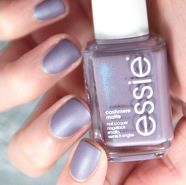 Top off any essie manicure with an air of mystery. A deep purple ...