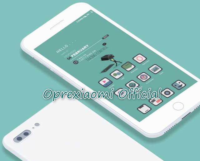 Xiaomi Theme Ijo V10 Mtz Full Flat Tembus Ke Semua