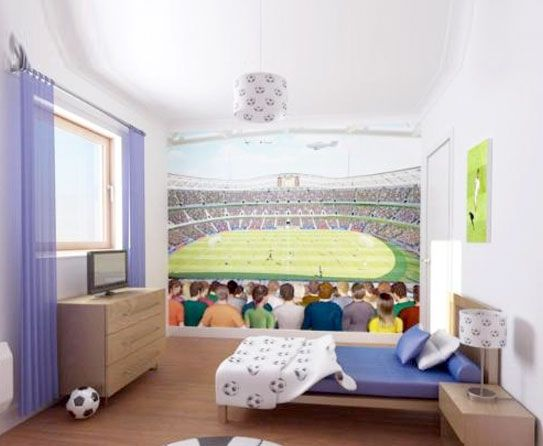 Cool Soccer Bedroom Accessories Wall Stylendesigns