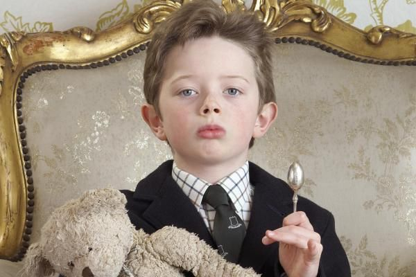 Image result for born with a silver spoon